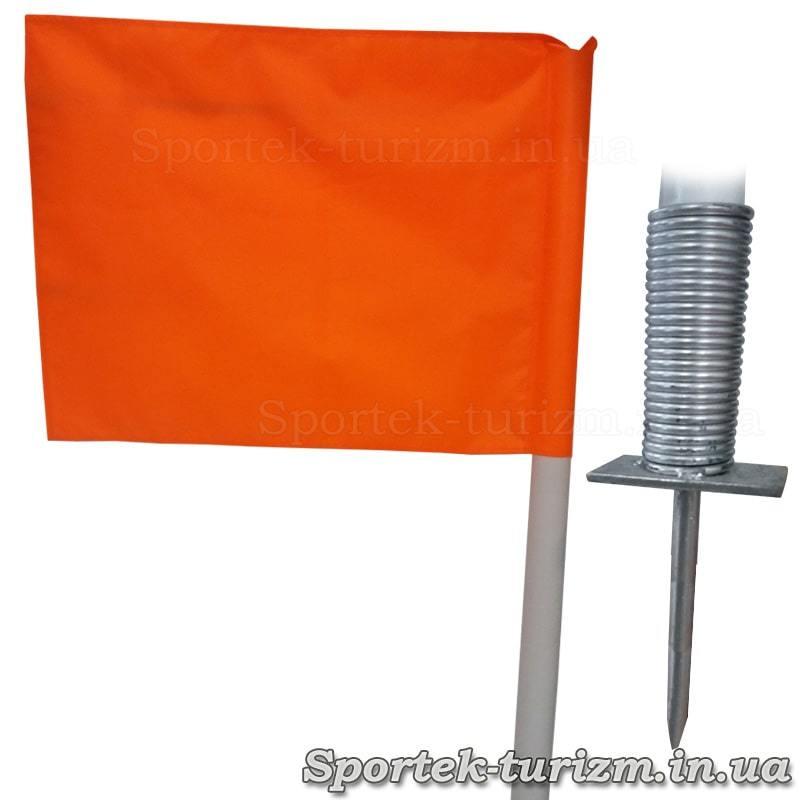 Флаг и игла углового флага