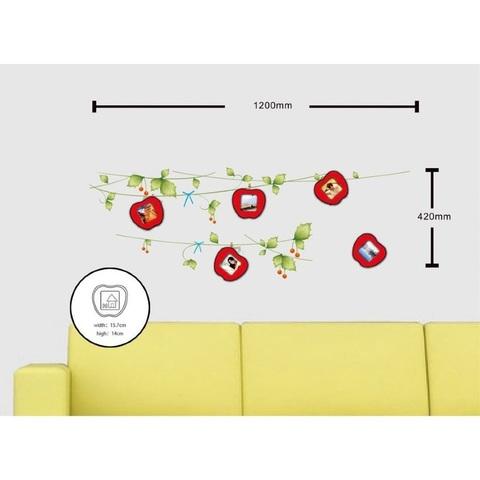 Наклейка на стену для 5 фоторамок, NL84 (Feron)