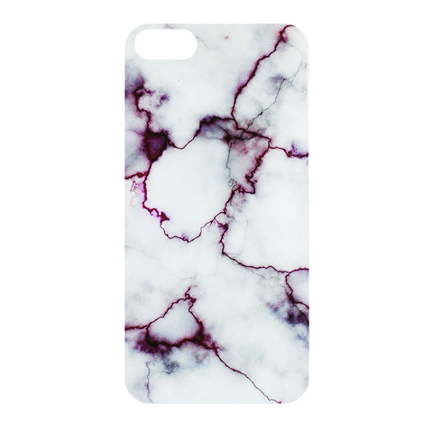 Чехол для IPhone 5/5S Marble Bordo