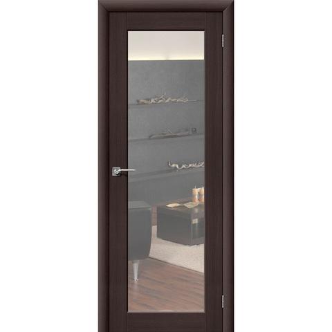 Аква Дверь 7 Wenge Veralinga с зеркалом с одной стороны