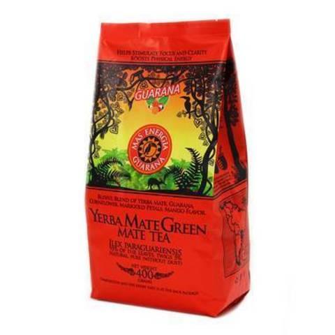 Чай травяной Йерба мате Green Mas Energia Guarana (Энергия Гуарана) 400 г