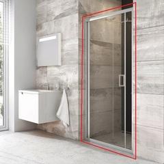 Дверь душевая складная в нишу 90х190 см Ravak Blix BLDZ2-90 X01H70C00Z1 фото