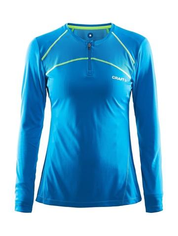 Беговая рубашка женская Craft Devotion Run (blue)