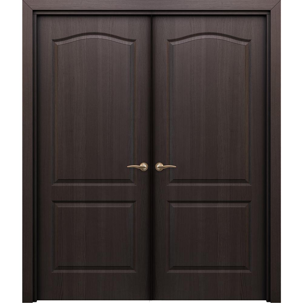 Двустворчатые двери Палитра венге распашная двустворчатая без стекла palitra-pgr-venge-dvertsov.jpg