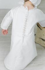 Рубашка на крещение   Ажурная коллекция (сатин)