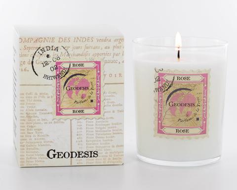 Ароматическая свеча Geodesis Rose