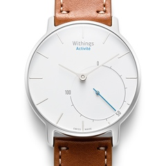 Withings Activite Silver (Серебристые), анализатор активности и сна, умные часы.