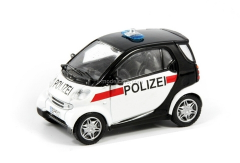 Smart City Coupe Austria 1:43 DeAgostini World's Police Car #45