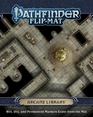 Pathfinder. Flip-Mat Arcane Library