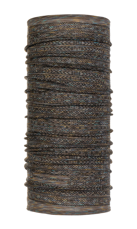 Тонкий шерстяной шарф-труба Buff Gard Fossil