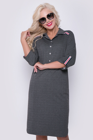 """Платье в стиле casual - прекрасное решение для повседневной жизни. В этом платье Вы будете выглядеть """"на высшем уровне"""", но и чувствовать себя комфортно..Длина по спинке - 44р.-52р.=100см.-104см."""