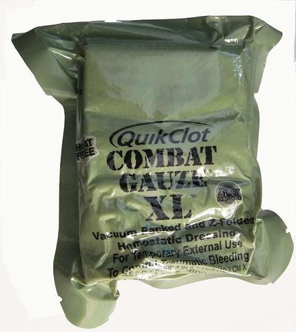 Кровоостанавливающий бинт QuikClot Combat Gauze XL