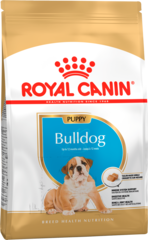 Корм для щенков собак породы английский бульдог, Royal Canin Bulldog Junior