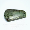 Подвеска Яшма зеленая №10 (44х45х6 мм)