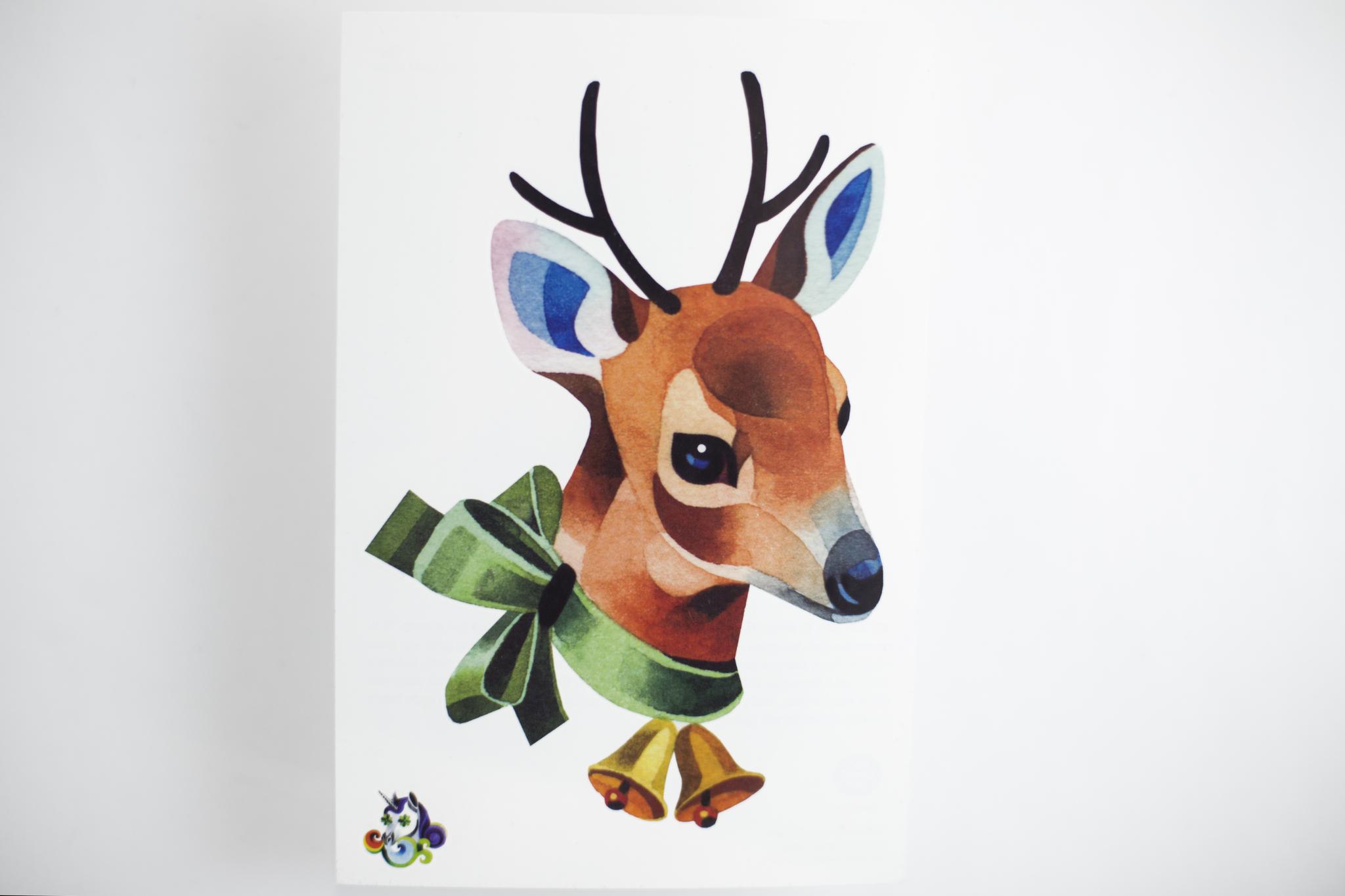 Переводная татуировка Deer