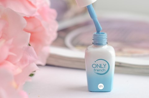Гель-лак Only French, LightBlue Touch №171, 7ml