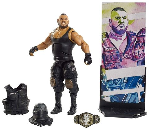 Фигурка Резар (Rezar) серия 62 - рестлер Wrestling WWE Elite Collection, Mattel