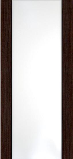 Ладора,3-3, Африканский орех - Белое стекло