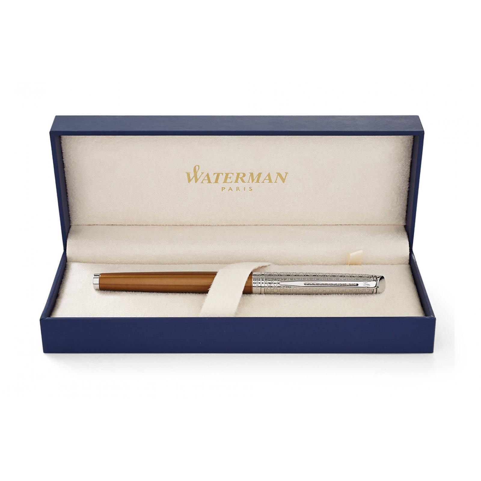 Waterman Hemisphere Deluxe Privee - Bronze CT, перьевая ручка, F
