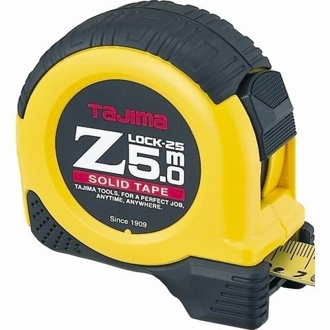 Рулетка 5м ZLock Tajima Z5L50MY