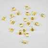 Концевик для шнура 3,5 мм, 7х4 мм (цвет - золото), 20 штук