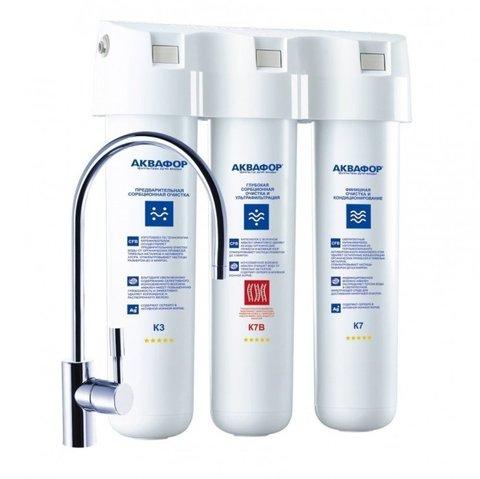 Проточный фильтр для воды Аквафор Кристалл Эко