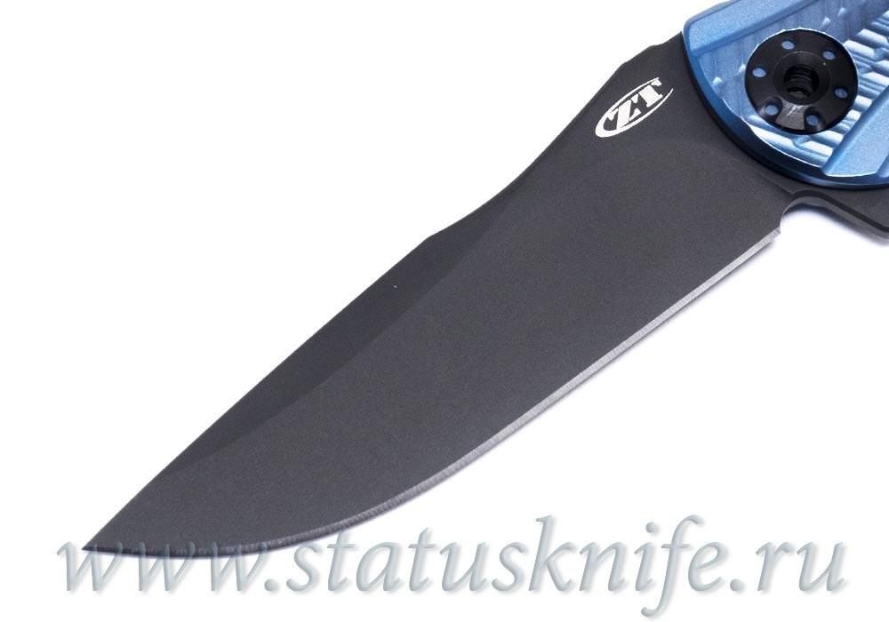 Нож Zero Tolerance 0609BLUBLK RJ Martin ZT0609BLUBLK