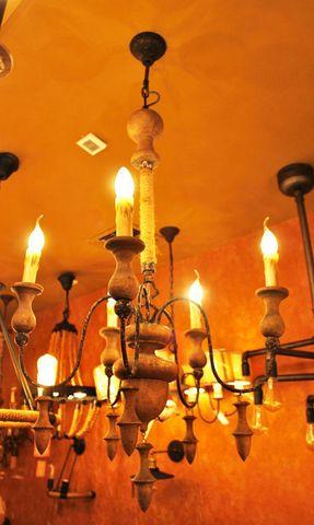 vintage chandelier 50-68 ( by Funky Vintage )