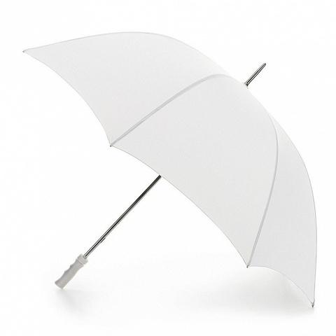 Fulton White мужской зонт-гольфер (белый) - свадебный