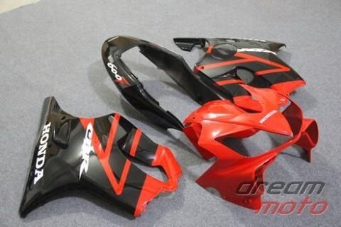 Комплект пластика для мотоцикла Honda CBR 600 F4i 04-07 красно-черный заводской