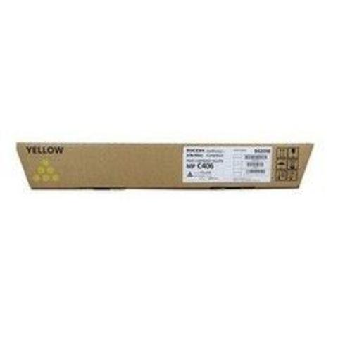 Тонер-картридж Ricoh тип MPC406 желтый для Ricoh MP C306, C307, C406, C407. Ресурс 6000 стр (842098)
