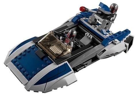 LEGO Star Wars: Мандалорианский спидер 75022 — Mandalorian Speeder — Лего Стар ворз Звёздные войны Эпизод
