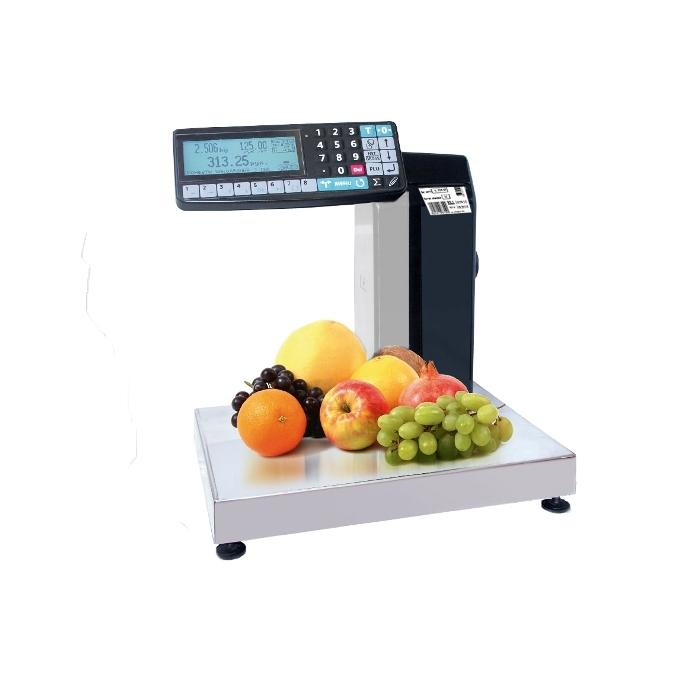 Весы с печатью этикеток Масса-К MK-R2L10-1