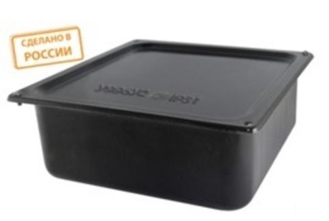 Коробка протяжная ОП металлическая У-996 IP31 грунт., без уплотнителя TDM