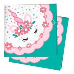 Салфетки Единорог Pink&Tiffany 12 шт