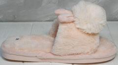 Стильные домашние тапочки женские Yes Mile A-08 Pink