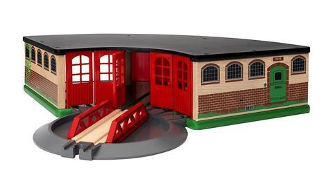 BRIO 33736 Депо основное деревянной железной дороги