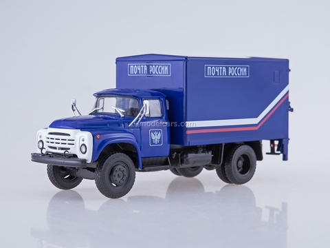 ZIL-130 Van with a load-lifting board U-165 Russia Mail 1:43 AutoHistory