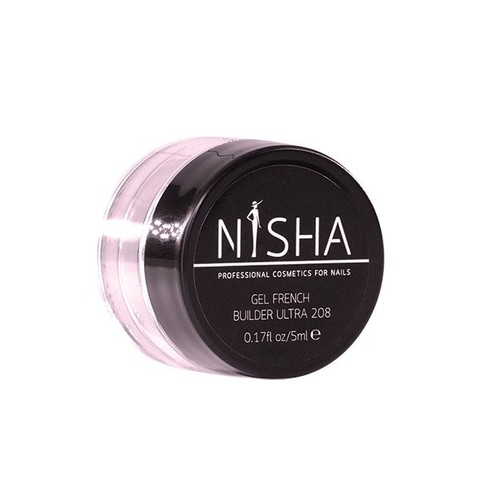Гель скульптурный Nisha Gel French Builder Ultra 5ml 208