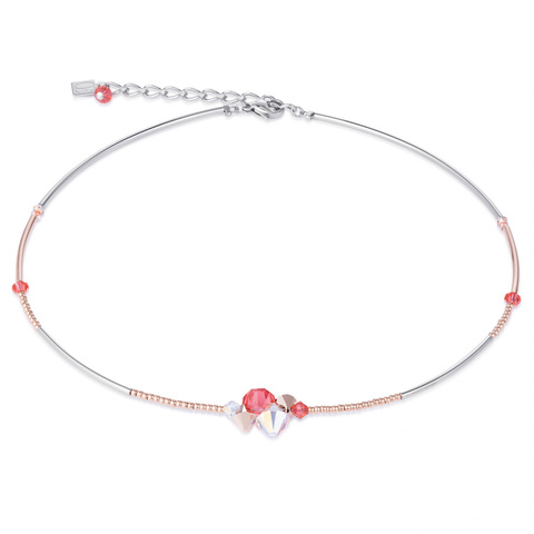 Колье Coeur de Lion 4952/10-0323 цвет розовый