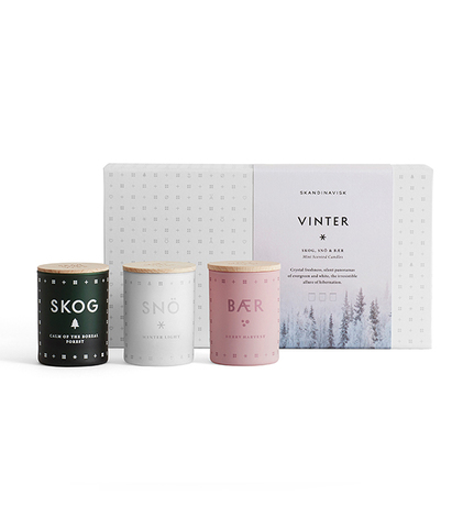 Набор из 3 ароматических свечей WINTER, Skandinavisk