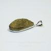 Подвеска Кварц в рамке (цвет - античное серебро) 35,4х23,5х9,4 мм №8