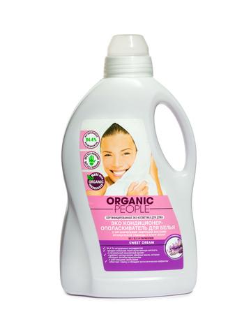 Organic PEOPLE, Эко кондиционер-ополаскиватель для белья SWEET DREAM, 1,5л
