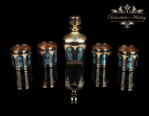 Набор для Виски  на 6 персон Dolmabahce (Ручная Роспись)