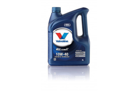 Масло моторное Valvoline ALL CLIMATE EXTRA 10W-40