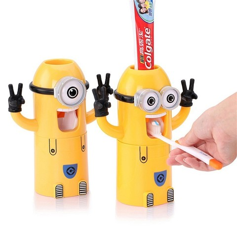 Автоматический диспенсер зубной пасты
