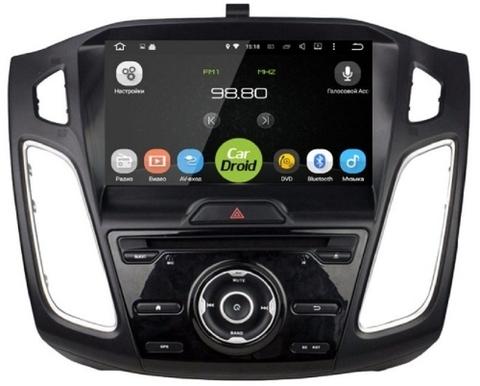 Штатная магнитола на Android 8.0 с DPS для Ford Focus 3 15+ Roximo CarDroid RD-1705D