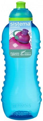 Детская бутылка для воды Sistema, зеленая 460 мл