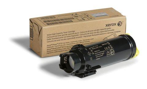 106R03695 - Тонер-картридж желтый (4,3K) Phaser 6510/ WC 6515