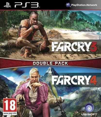 Sony PS3 Far Cray 3 + Far Cry 4 Комплект (русские субтитры)